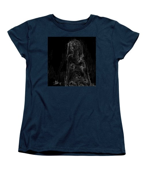 Seated Nude Women's T-Shirt (Standard Cut) by Jim Vance