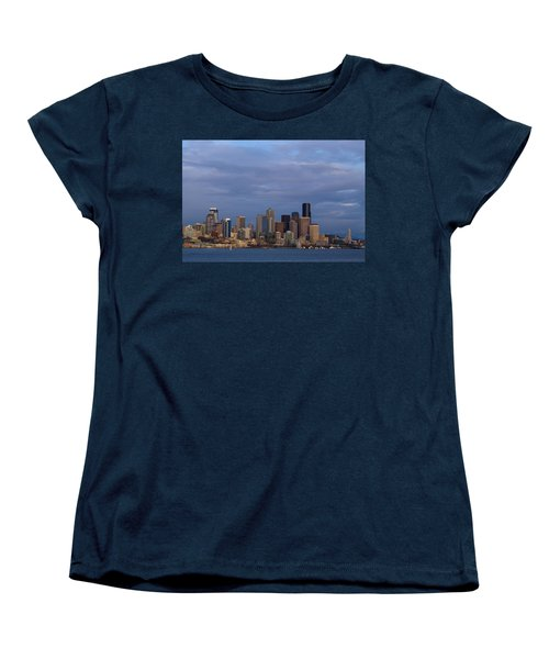 Seattle Women's T-Shirt (Standard Cut) by Evgeny Vasenev
