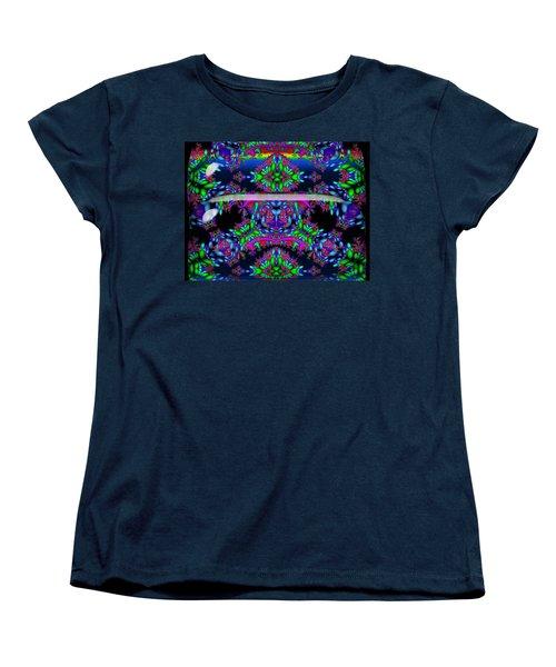 Women's T-Shirt (Standard Cut) featuring the digital art Secret Garden by Robert Orinski
