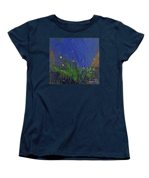 Snorkeling Women's T-Shirt (Standard Cut) by Karen Nicholson