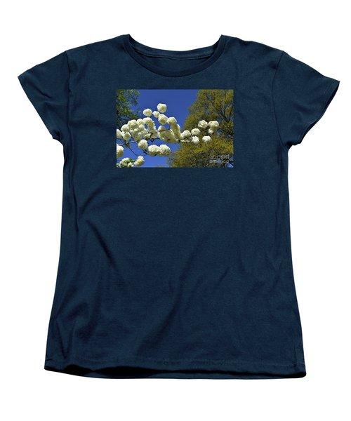 Women's T-Shirt (Standard Cut) featuring the photograph Snowballs by Skip Willits
