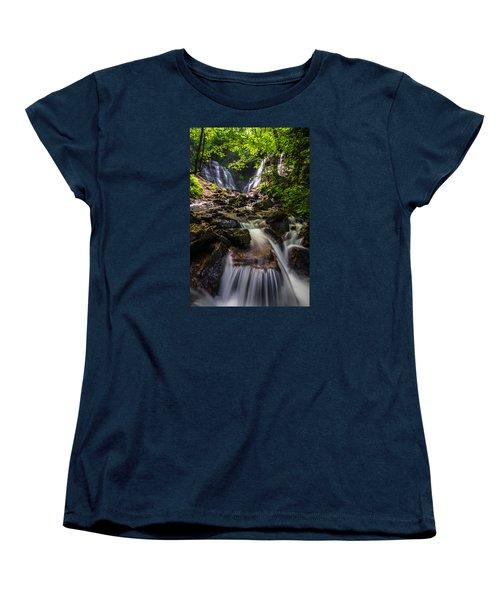 Soco Falls Women's T-Shirt (Standard Cut) by Serge Skiba