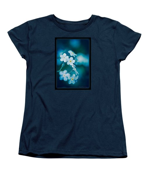 Soft Blue Women's T-Shirt (Standard Cut) by Michaela Preston