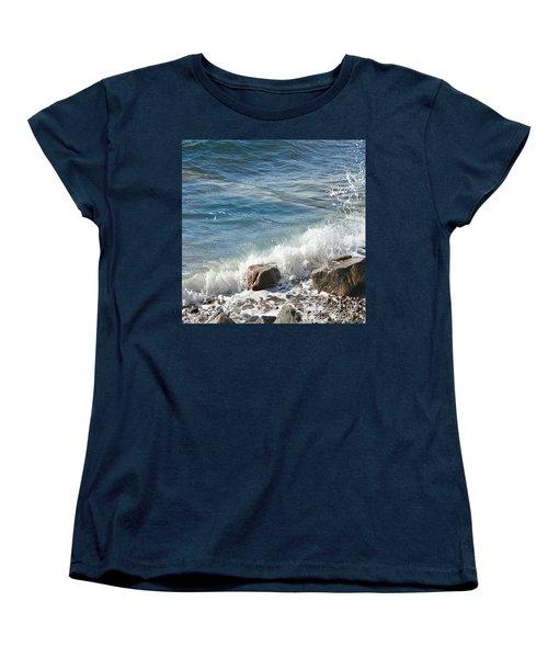 Splash Women's T-Shirt (Standard Cut) by Judy Palkimas