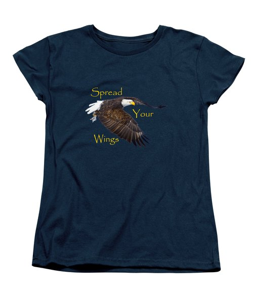 Spread Your Wings Women's T-Shirt (Standard Cut) by Greg Norrell