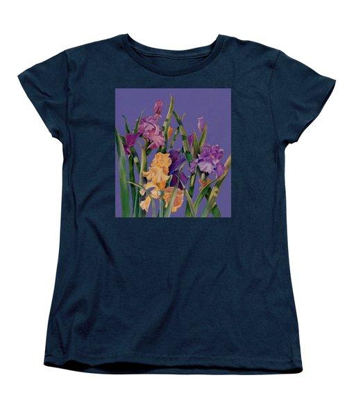 Women's T-Shirt (Standard Cut) featuring the pastel Spring Recital by Ann Peck