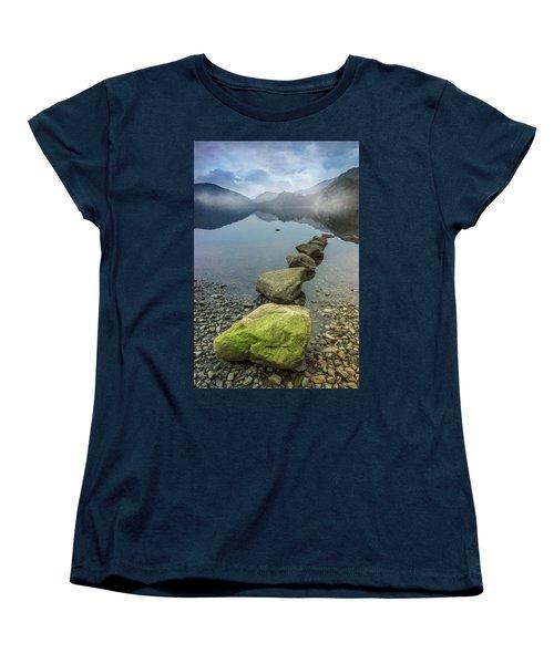 Stepping Stones Women's T-Shirt (Standard Cut) by Ian Mitchell