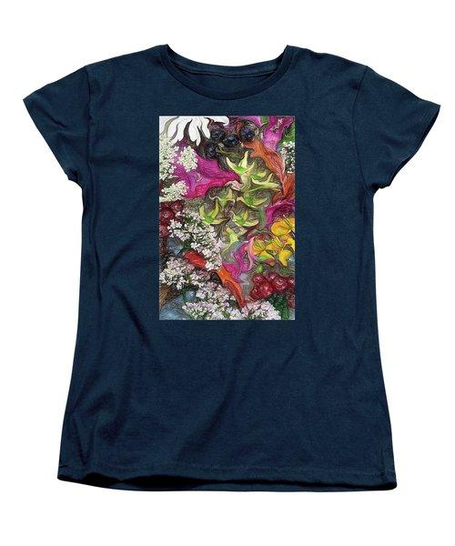 Women's T-Shirt (Standard Cut) featuring the photograph Summer Still Life by Vladimir Kholostykh