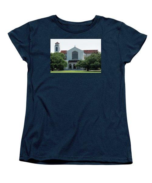 Summerall Chapel Women's T-Shirt (Standard Cut) by Ed Waldrop