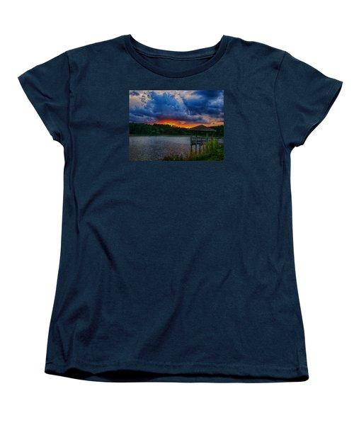 Sunset Huntington Beach State Park Women's T-Shirt (Standard Cut)