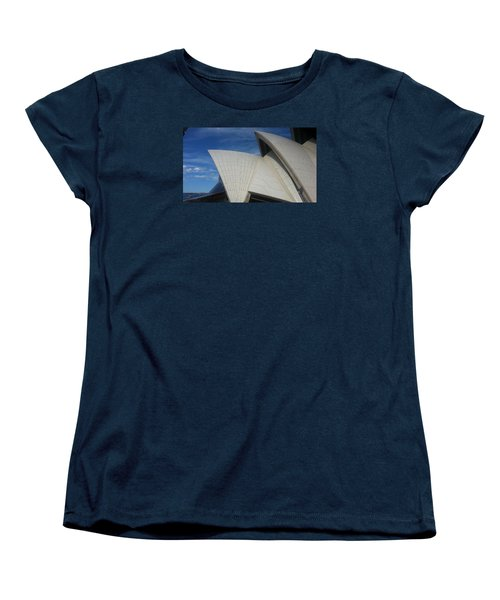 Sydney Opera House Women's T-Shirt (Standard Cut) by Bev Conover