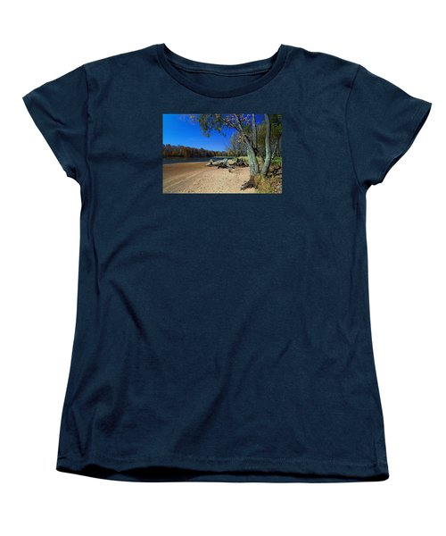 Women's T-Shirt (Standard Cut) featuring the photograph The End Of Summer by Judy  Johnson