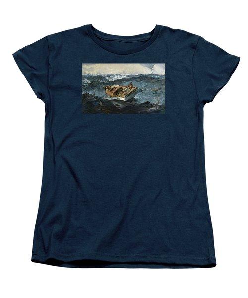 The Gulf Stream Women's T-Shirt (Standard Cut) by Winslow Homer