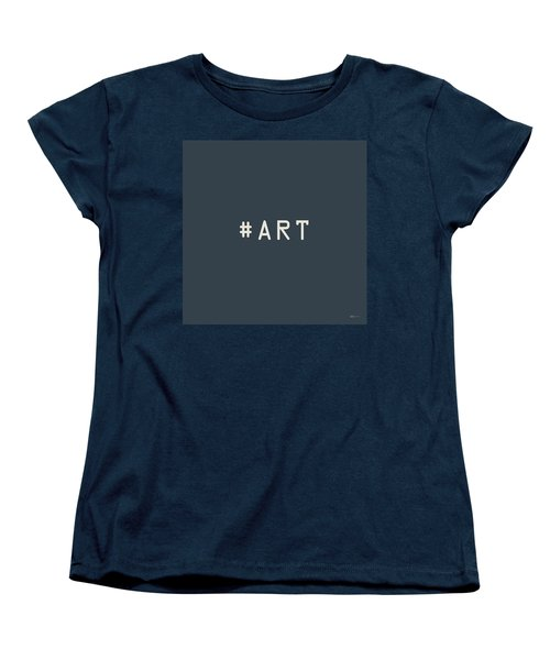 The Meaning Of Art - Hashtag Women's T-Shirt (Standard Cut) by Serge Averbukh