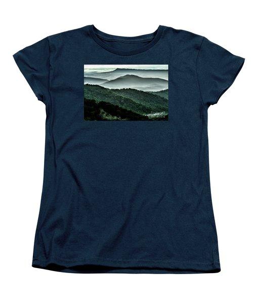The Point Overlook Women's T-Shirt (Standard Cut) by Thomas R Fletcher