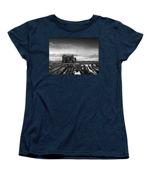Women's T-Shirt (Standard Cut) featuring the photograph The Shack by Dana DiPasquale