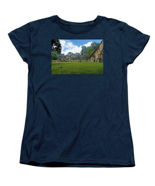 Tikal, Guatemala Women's T-Shirt (Standard Cut) by Marius Sipa