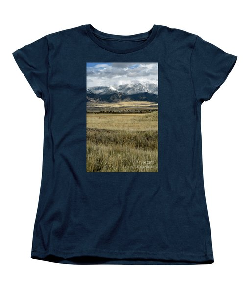 Tobacco Root Mountains Women's T-Shirt (Standard Cut) by Cindy Murphy - NightVisions