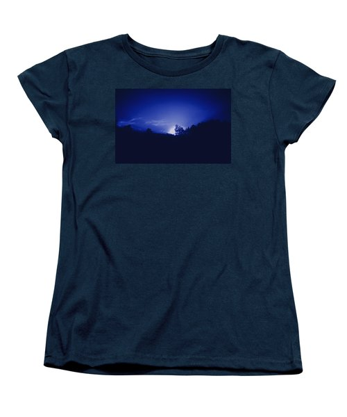 Women's T-Shirt (Standard Cut) featuring the photograph Where The Smurfs Live 2 by Max Mullins