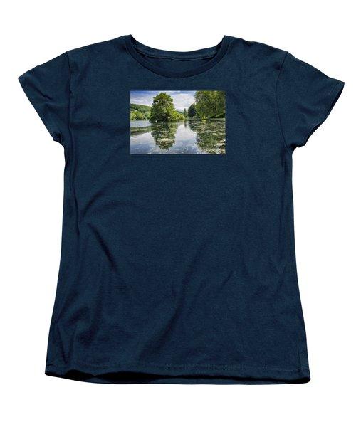 Tranquility Women's T-Shirt (Standard Cut) by David  Hollingworth