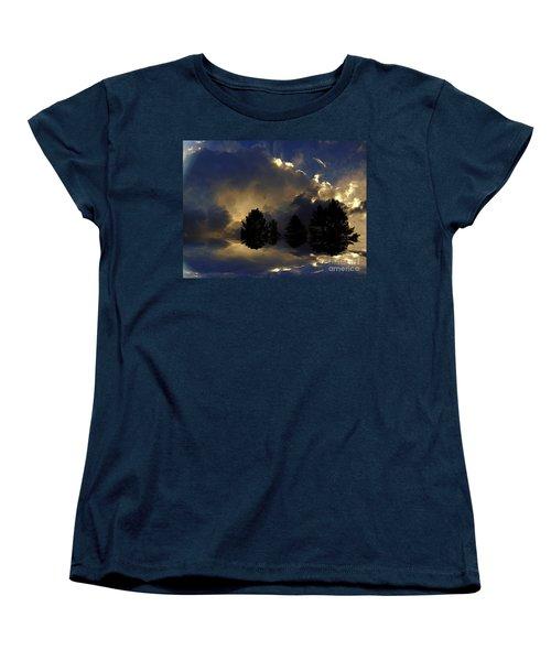 Tumultuous Women's T-Shirt (Standard Cut) by Elfriede Fulda