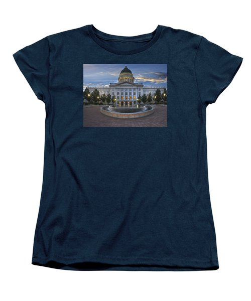 Utah State Capitol Building Women's T-Shirt (Standard Cut) by Utah Images