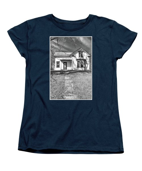 Visiting The Old Homestead Women's T-Shirt (Standard Cut) by Guy Whiteley