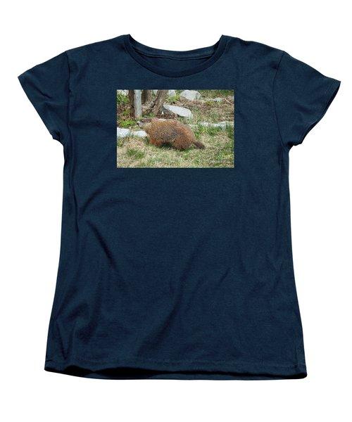 Visitor  Women's T-Shirt (Standard Cut) by Vicky Tarcau