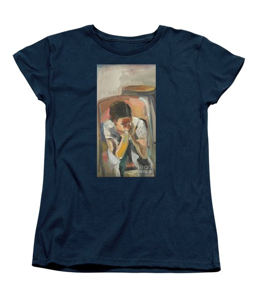 Wait Child Women's T-Shirt (Standard Cut) by Daun Soden-Greene