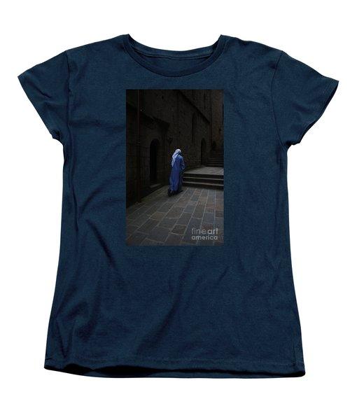 Walk Of Faith Women's T-Shirt (Standard Cut) by Therese Alcorn