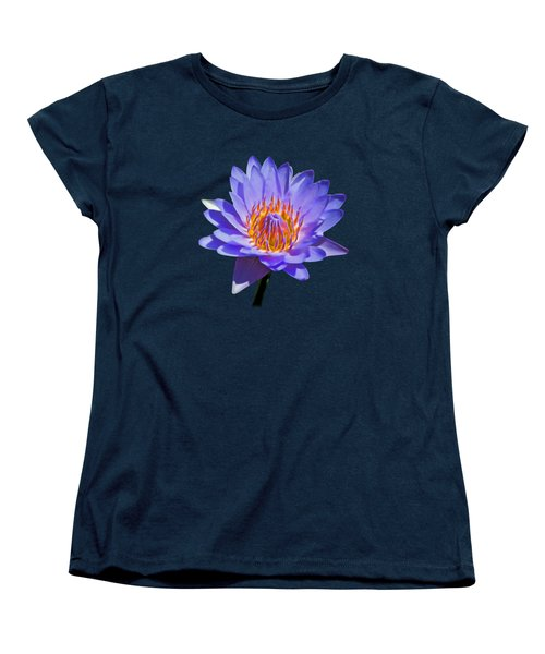Water Lily Women's T-Shirt (Standard Cut) by Pamela Walton