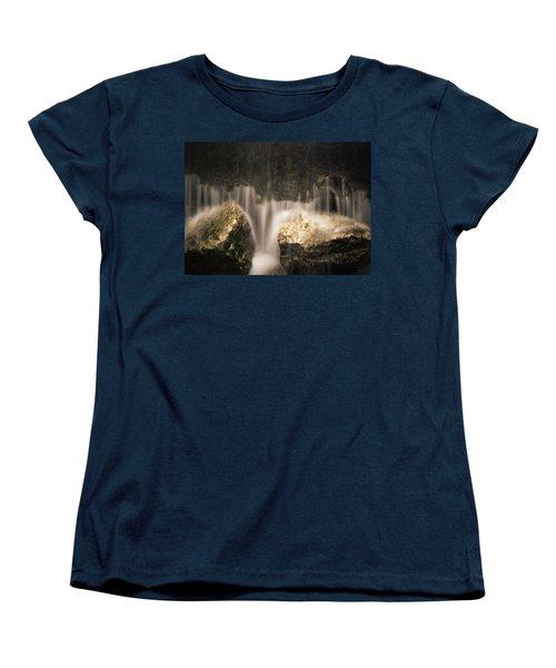 Waterfall Detail Women's T-Shirt (Standard Cut) by Scott Meyer