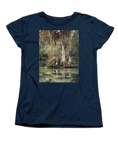 Weeki Wachee River Women's T-Shirt (Standard Cut) by Steven Sparks