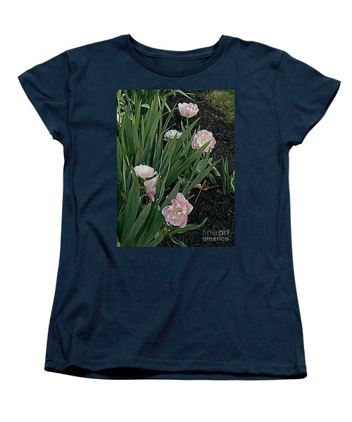 Women's T-Shirt (Standard Cut) featuring the photograph We're Over Here by Nancy Kane Chapman