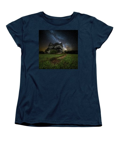 Women's T-Shirt (Standard Cut) featuring the photograph What Once Was by Aaron J Groen