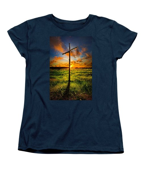 What Will Be Will Be Women's T-Shirt (Standard Cut) by Phil Koch