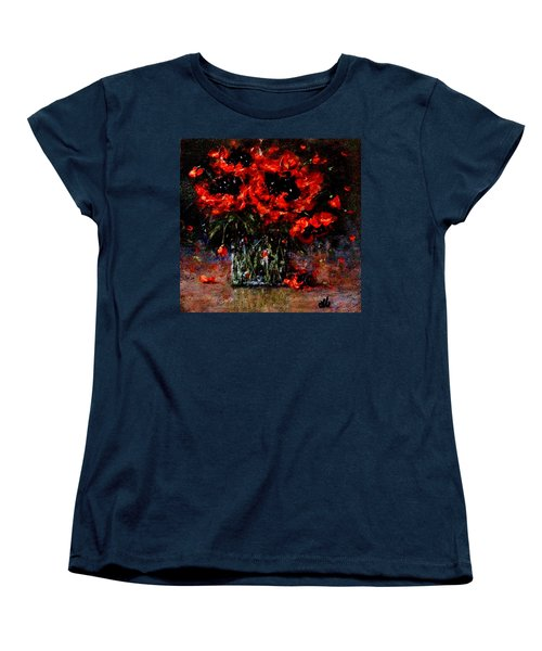 Whispers Of Love  Women's T-Shirt (Standard Cut) by Cristina Mihailescu