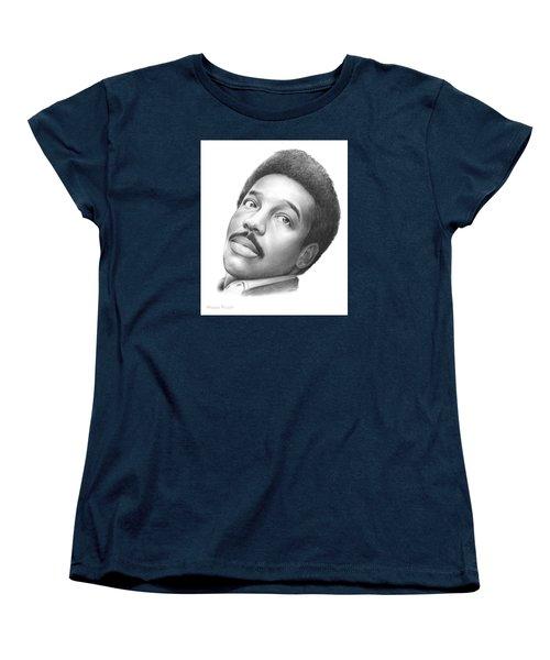 Wilson Pickett Women's T-Shirt (Standard Cut) by Greg Joens