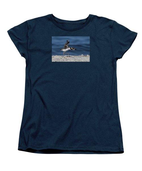 Wilson's Plover Women's T-Shirt (Standard Cut) by Meg Rousher