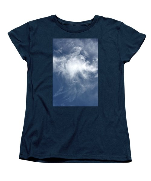 Women's T-Shirt (Standard Cut) featuring the photograph Wing And A Prayer by Cathie Douglas