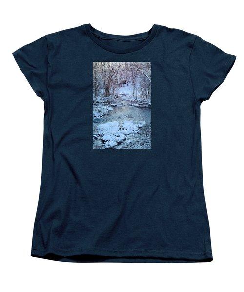 Women's T-Shirt (Standard Cut) featuring the photograph Winter Wonderland by Dacia Doroff