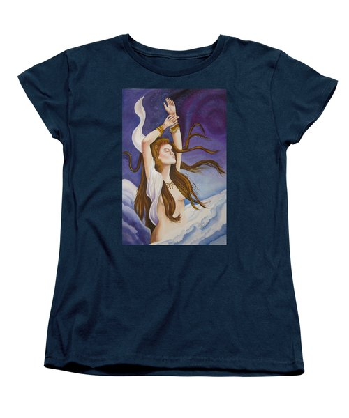 Woman Unleashed Women's T-Shirt (Standard Cut) by Teresa Beyer