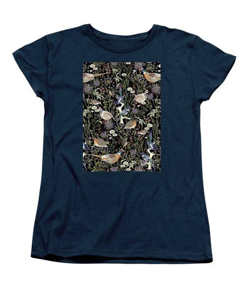 Woodland Edge Birds Women's T-Shirt (Standard Cut)