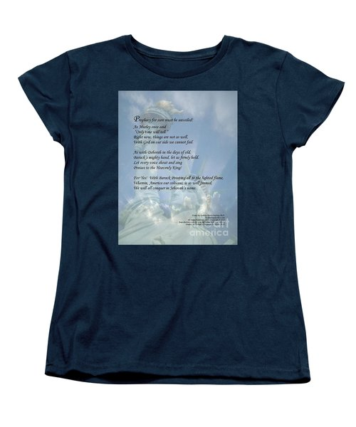 Writer, Artist, Phd. Women's T-Shirt (Standard Cut) by Dothlyn Morris Sterling