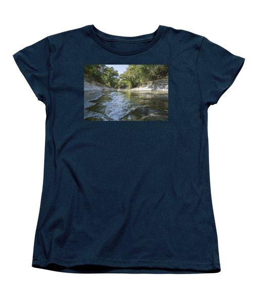 10 Mile Creek Women's T-Shirt (Standard Cut) by Ricky Dean