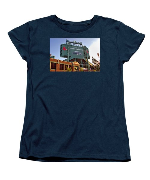 100 Years At Fenway Women's T-Shirt (Standard Cut) by Joann Vitali