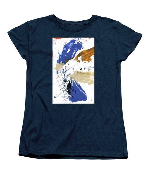 Three Color Palette Women's T-Shirt (Standard Cut) by Michal Mitak Mahgerefteh