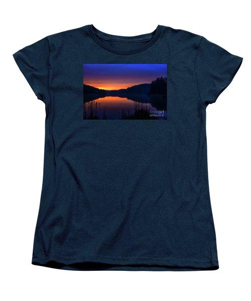 Women's T-Shirt (Standard Cut) featuring the photograph Winter Dawn by Thomas R Fletcher