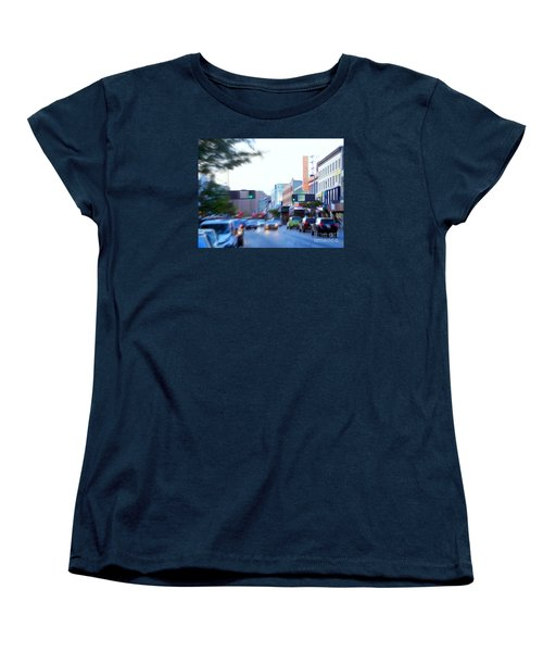 125th Street Harlem Nyc Women's T-Shirt (Standard Cut) by Ed Weidman