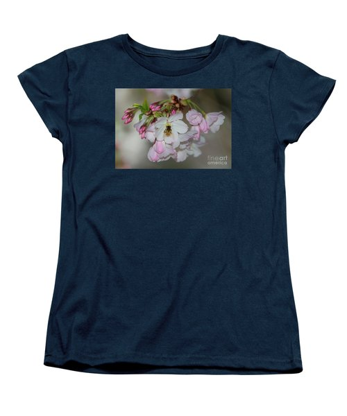 Silicon Valley Cherry Blossoms Women's T-Shirt (Standard Cut) by Glenn Franco Simmons